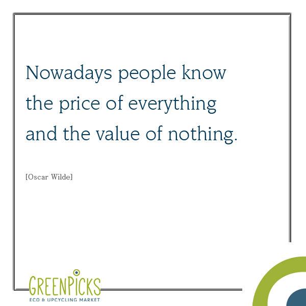 Oscar Wilde: Price versus Value