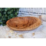 Soap dish made of olive wood