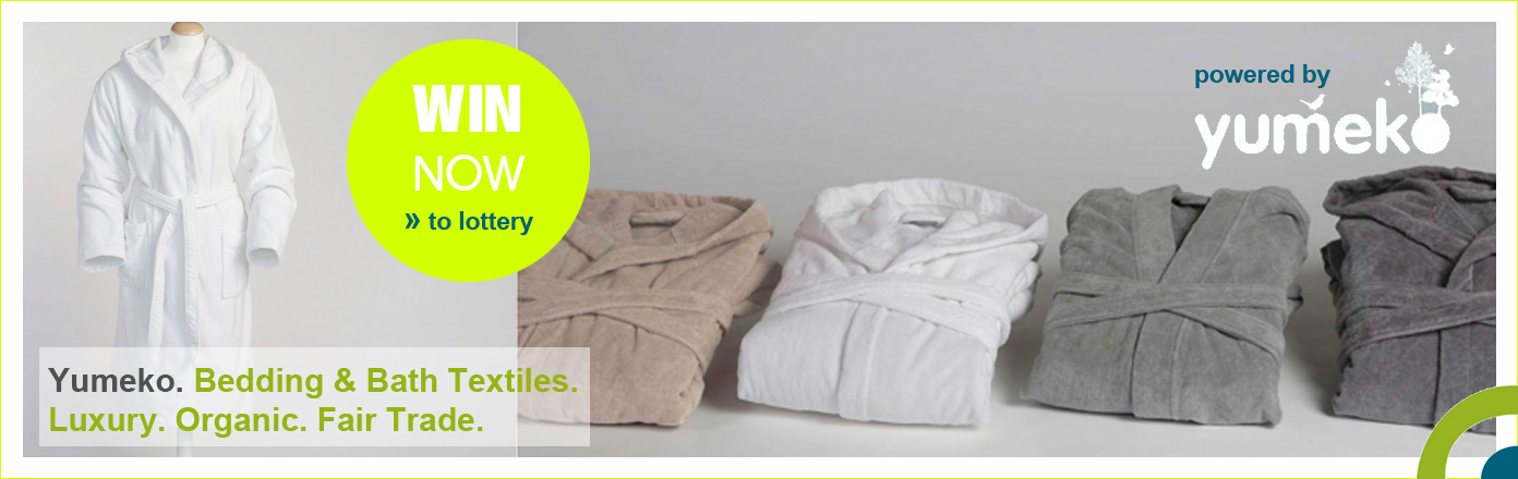 Win an eco bathrobe