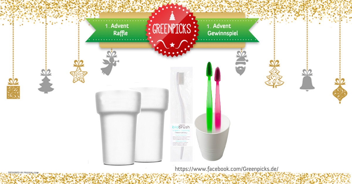 Santa Claus Raffle: eco toothbrush set