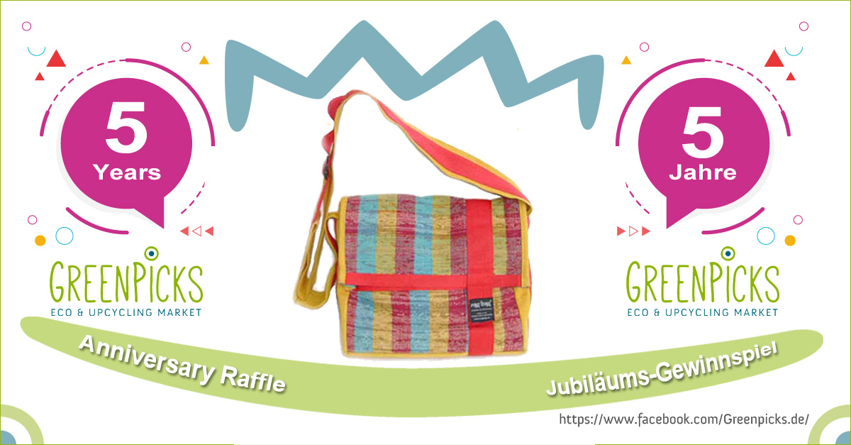 Fair Anniversary Raffles: Ragbag Sunset Shoulder Bag