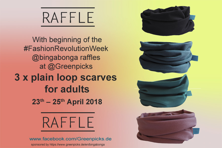 Fashion Revolution Week 2018 Raffle