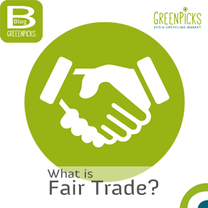 Fairtrade seal at Greenpicks