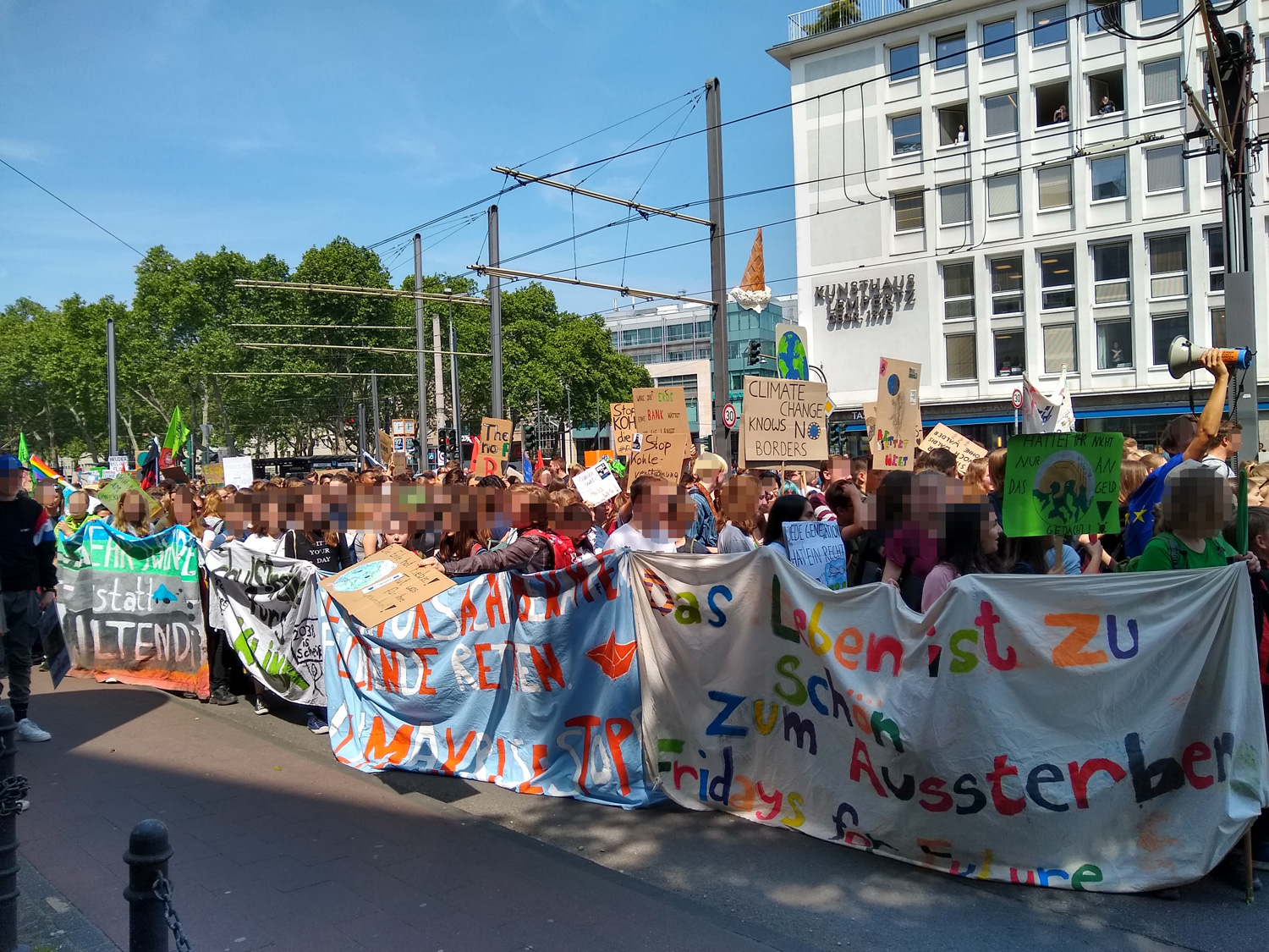 Fridays for future Cologne May 2019