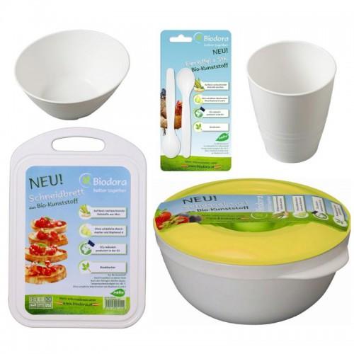 Nachhaltigkeit in Haushalt, Küche & Co.: Küchenprodukte aus Bioplastik