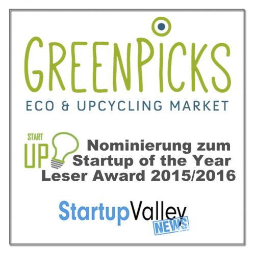 Nominierung Greenpicks Startup