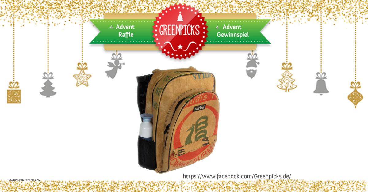 Weihnachts-Gewinnspiel: Upcycling Rucksack von Ragbag