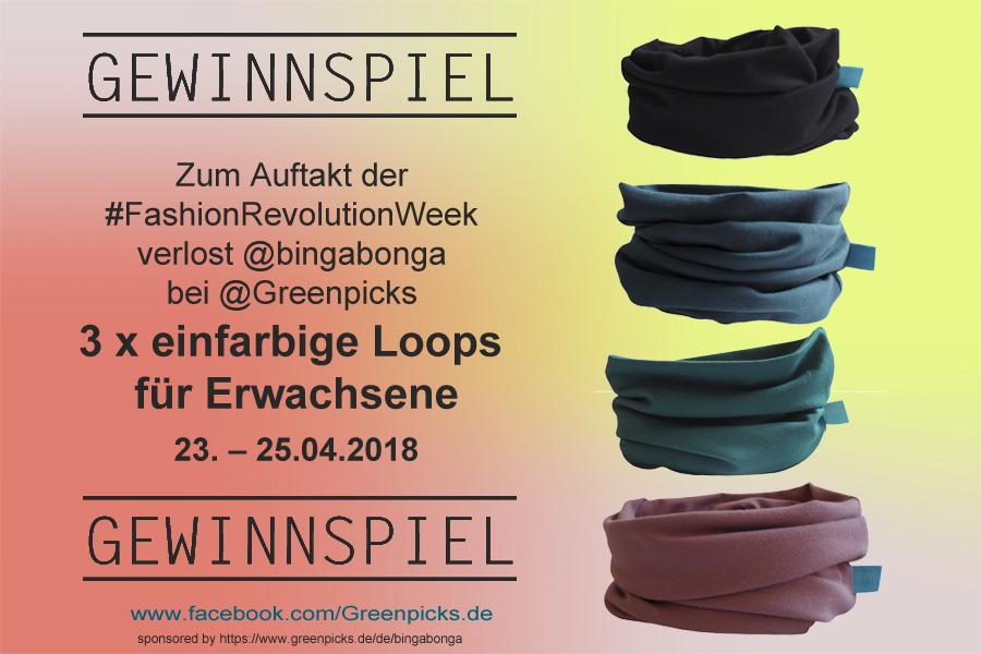 Fashion Revolution Week 2018 Gewinnspiel
